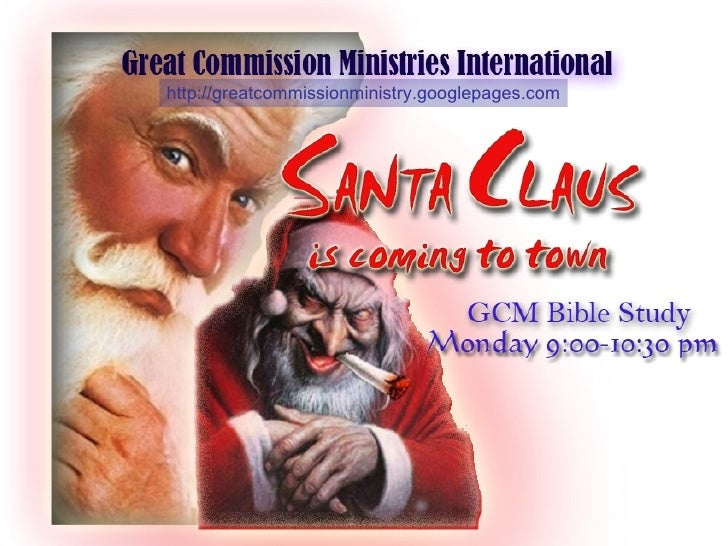 Santa Claus, Who Is He?