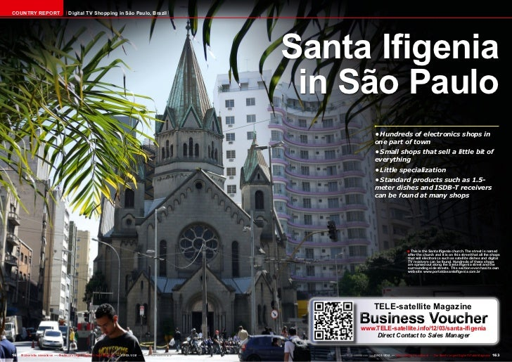 COUNTRY REPORT                           Digital TV Shopping in São Paulo, Brazil                                         ...