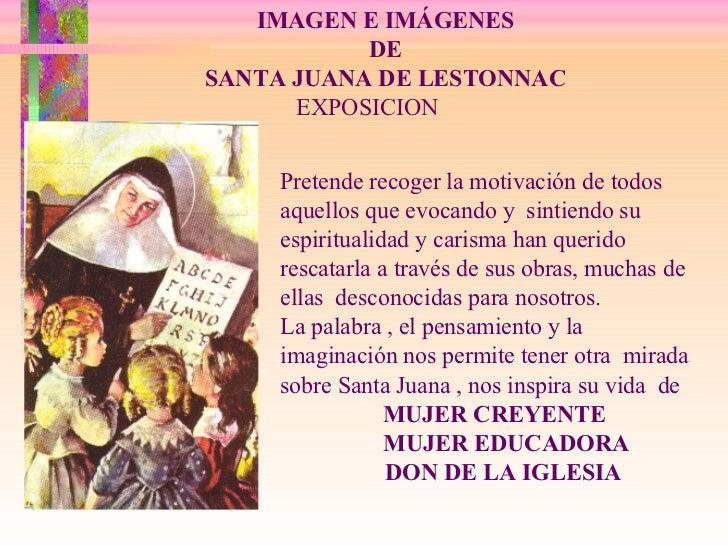 Santa Juana de Lestonnac-Mujer Creyente