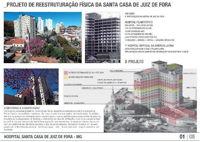 _PROJETO DE REESTRUTURAÇÃO FÍSICA DA SANTA CASA DE JUIZ DE FORA  160 ANOS 3° INSTITUIÇÃO MAIS ANTIGA DE JUIZ DE FORA  HOSP...