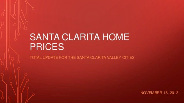 Santa Clarita home prices and inventory for real estate