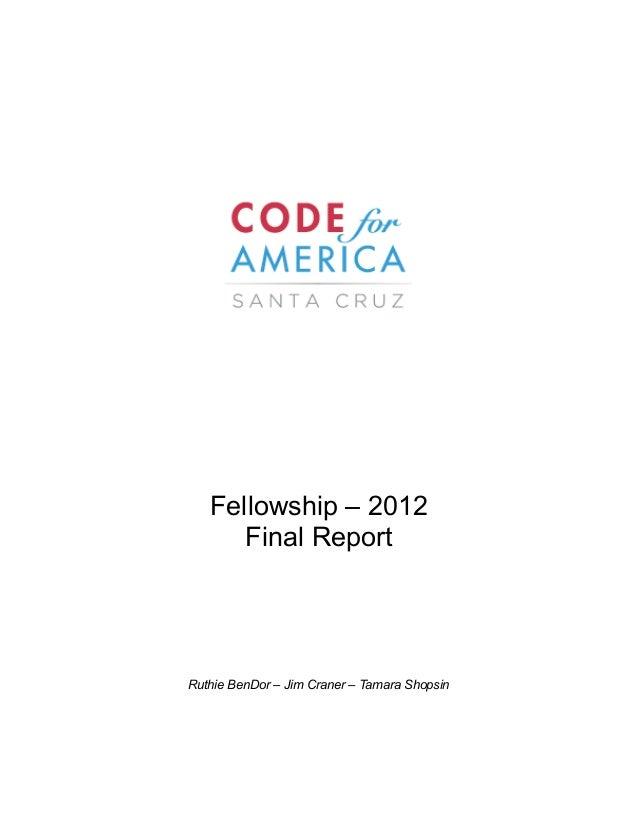 2012_Santa Cruz End of Year Report