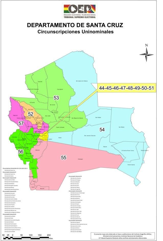 Santa cruz mapa-electoral