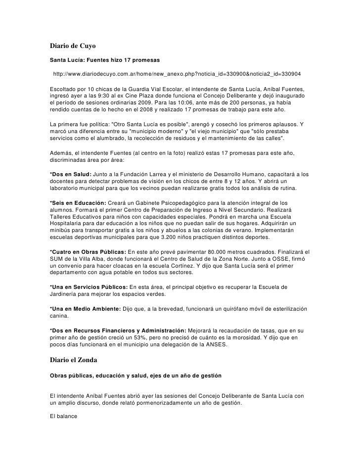 Diario de Cuyo Santa Lucía: Fuentes hizo 17 promesas   http://www.diariodecuyo.com.ar/home/new_anexo.php?noticia_id=330900...