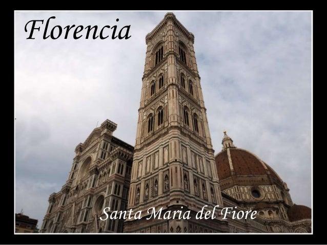 Santa Maria del Fiore Florencia