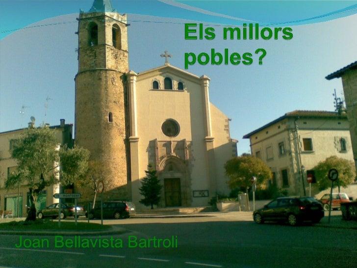 Joan Bellavista Bartroli