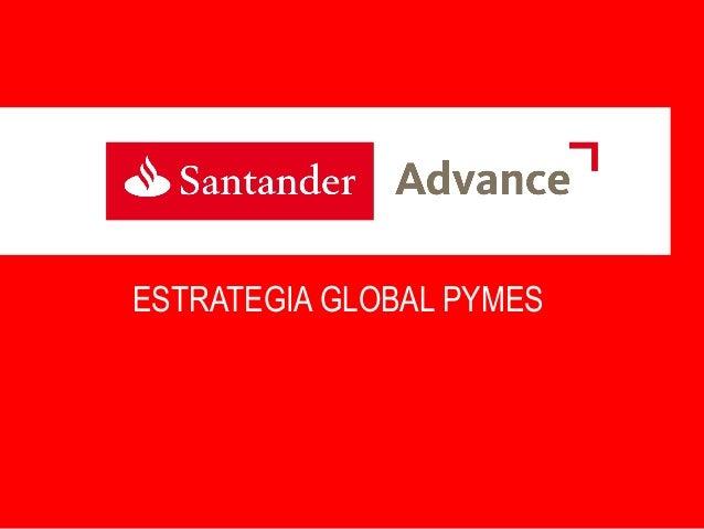 Presentación Santander Advance