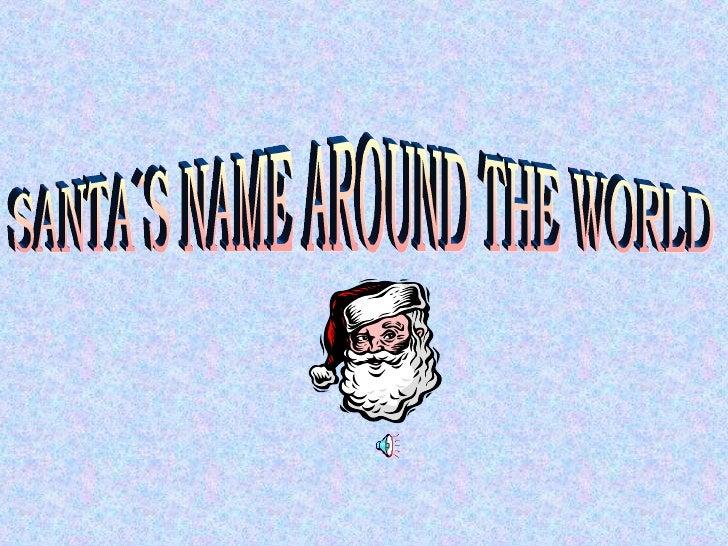 Santa´S Name