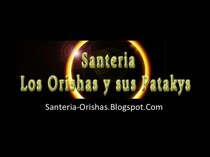 Santeria-Orishas.Blogspot.Com