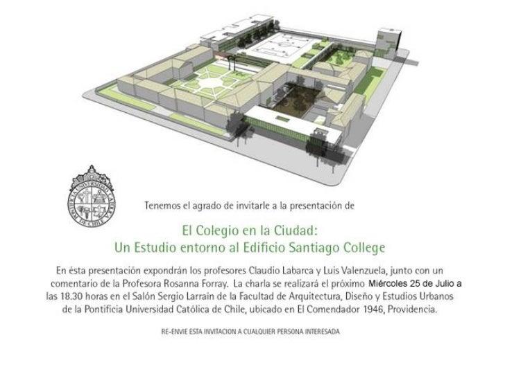 Santiago College en la Ciudad
