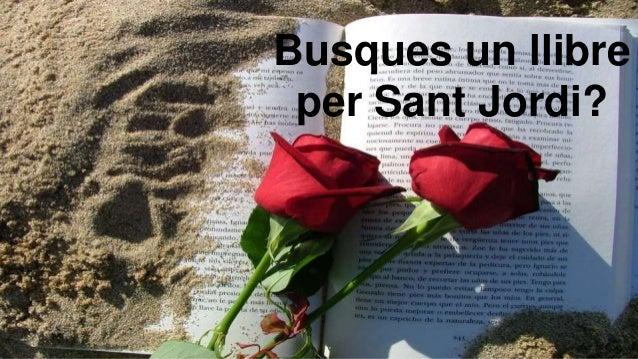 Busques un llibre per Sant Jordi?