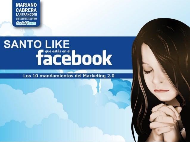 Santo Like que estás en el Facebook (Versión 2013)