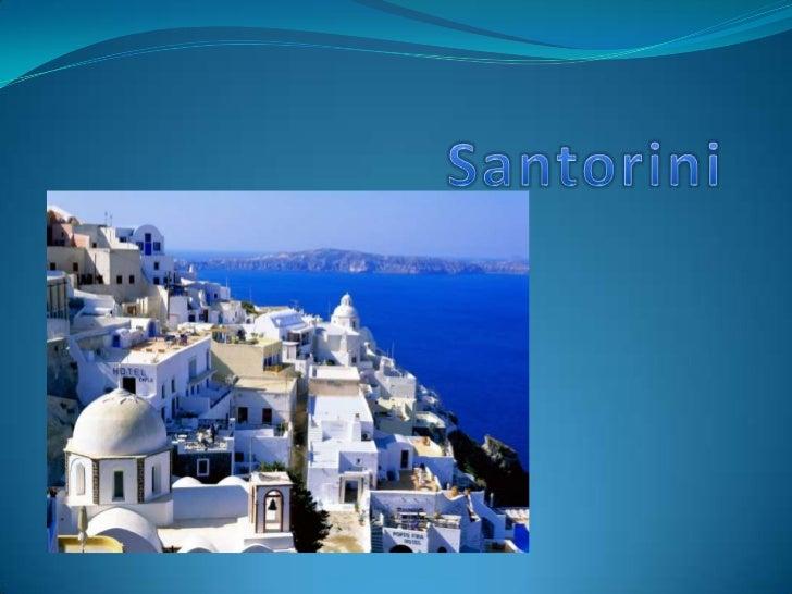 Santorini<br />