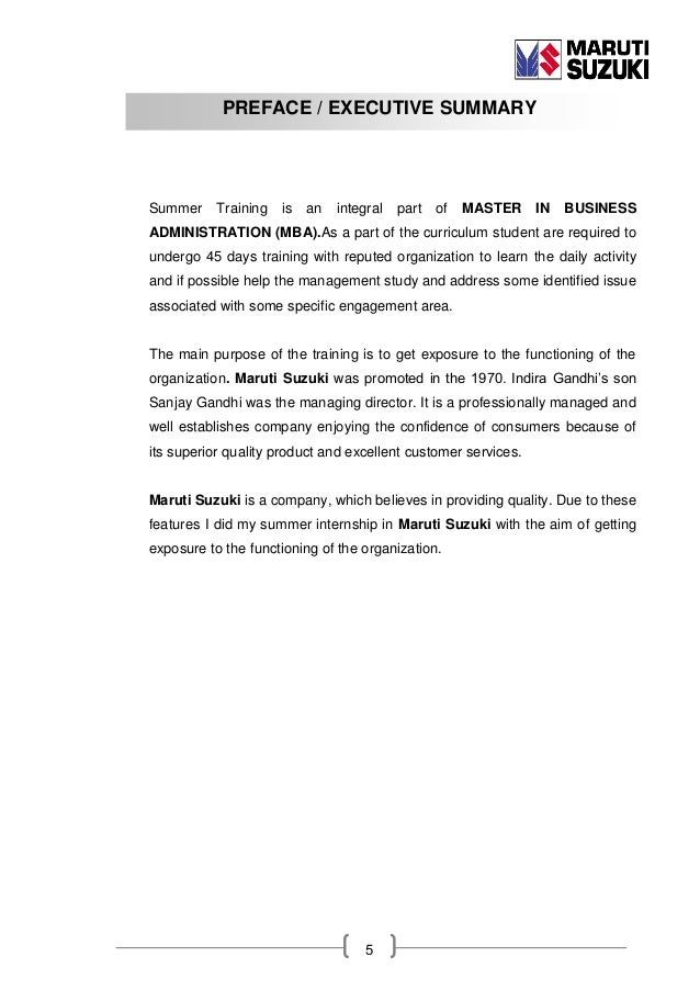 summer training report on maruti Hi guys i need a summer training report/ project on comparative analysis of barti airtel plzz send me on email id snipped read rules advertisements.