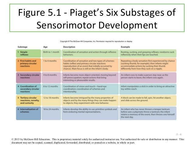 piagets sensorimotor stage Figure 1 the inspiration web above illustrates piaget's four cognitive development stages sensorimotor (birth-2 years), preoperational (2 - 7 years), concrete.
