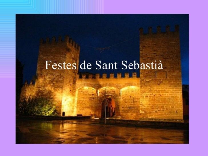 Festes de Sant Sebastià