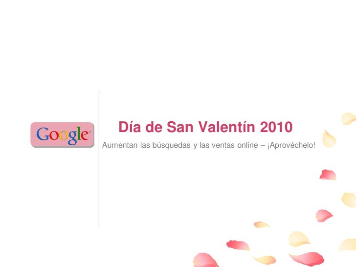 San Valentin 2010  Informacion General Español
