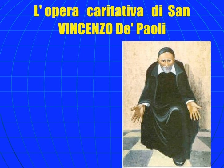 San Vincenzo Dä Paoli