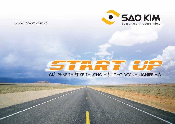 STARTUP - Giải pháp thiết kế thương hiệu cho doanh nghiệp mới