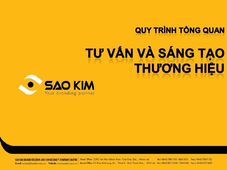 [SaoKim.com.vn] Quy trình xây dựng thương hiệu, hoạch định chiến lược, thiết kế thương hiệu & truyền thông thương hiệu