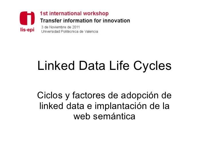 Saorín·Linked Data Life Cycles