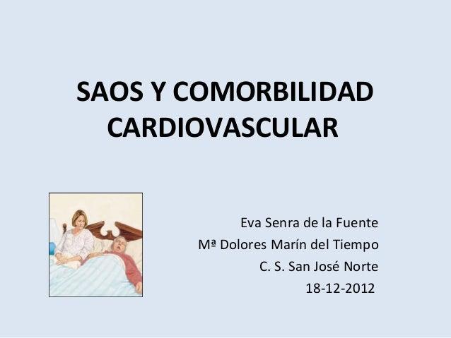 (2012-12-18) SAOS y comorbilidad cardiovascular (ppt)