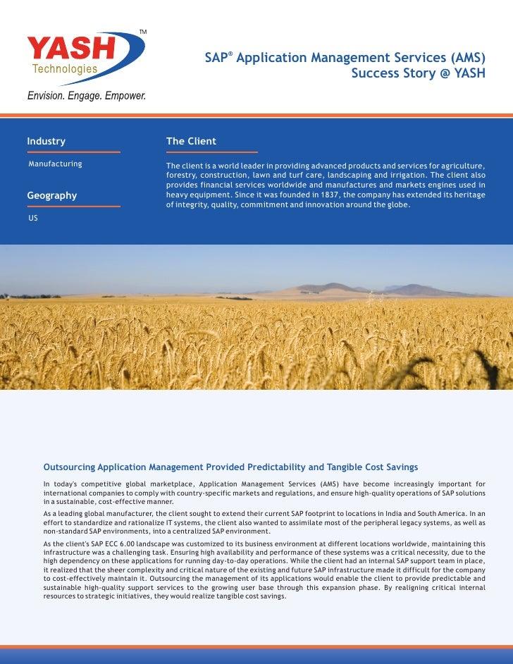 SAP® Application Management Services (AMS)                                                                             Suc...