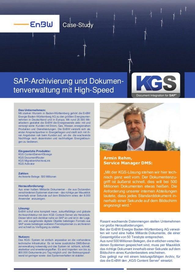 Das Unternehmen: Mit starken Wurzeln in Baden-Württemberg gehört die EnBW Energie Baden-Württemberg AG zu den größten Ener...