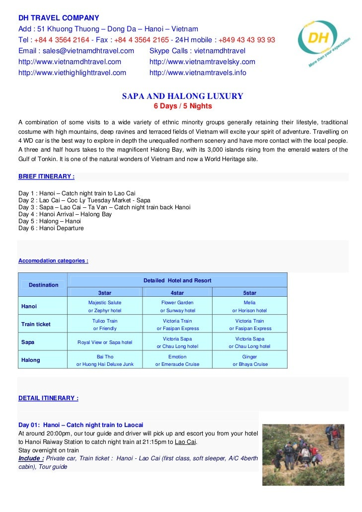 Sapa And Halong Luxury 6 Days    5 Nights