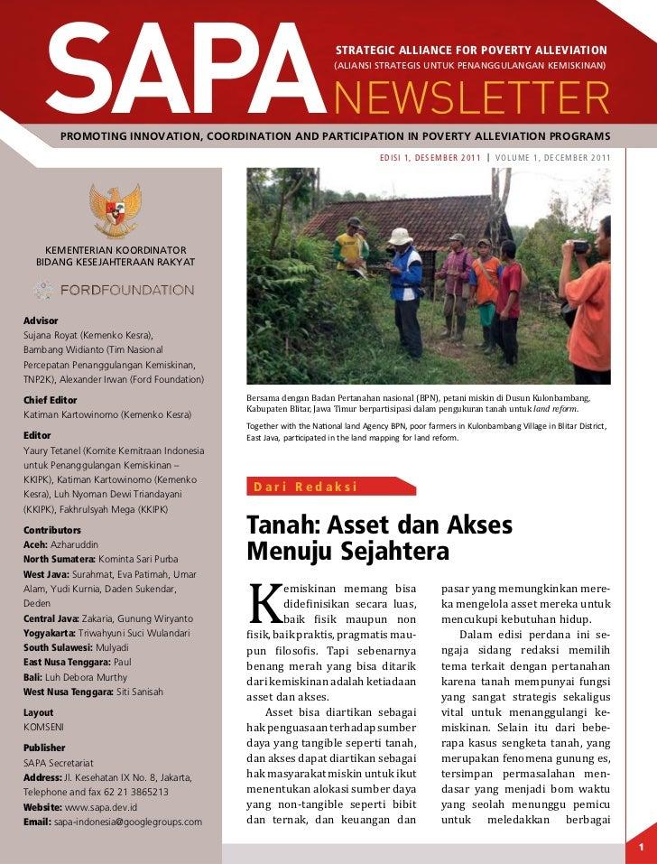 Sapa edisi 1 desember 2011