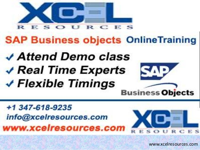 Sap bo online training in us