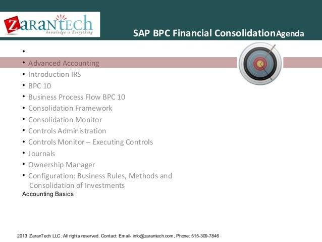 SAP BPC 10.0 Training from ZaranTech