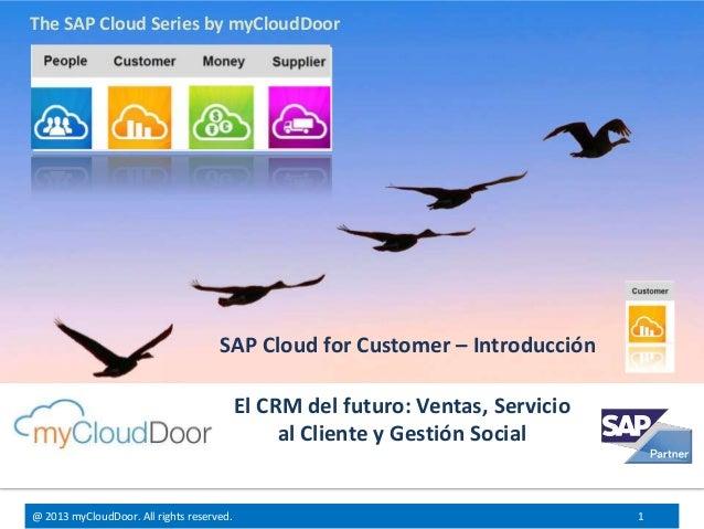 Sap Cloud for Customer - Introduccion - Español