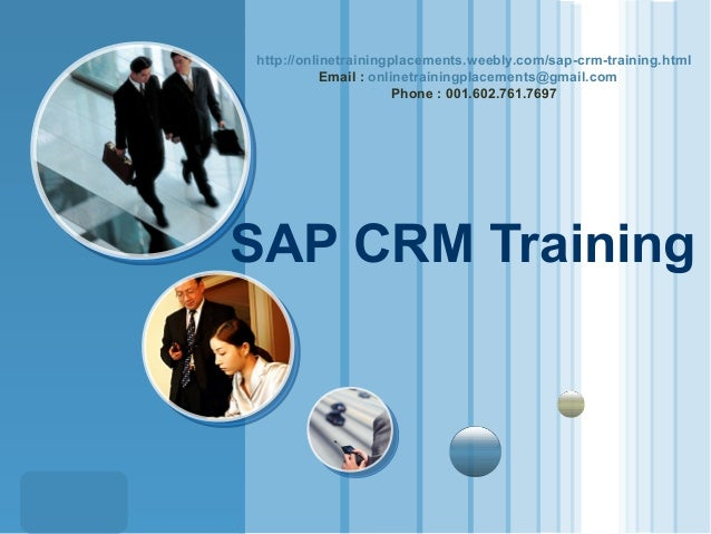http://onlinetrainingplacements.weebly.com/sap-crm-training.html Email : onlinetrainingplacements@gmail.com Phone : 001.60...