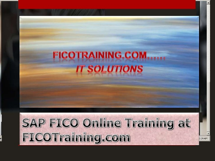 For those who aspire to become Finance orAccounting Professional, who wish to pursue somecreative stuff SAP FICO is an ult...