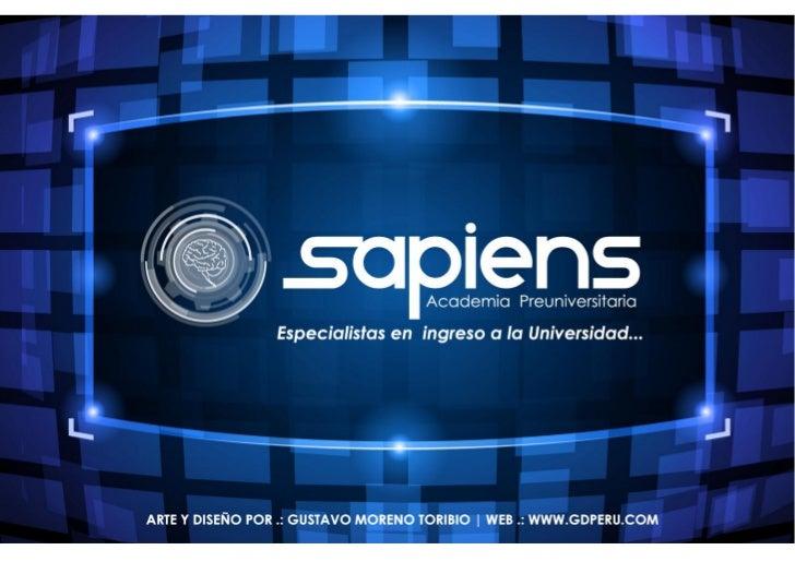 SAPIENS ACADEMIA PREUNIVERSITARIA - TRUJILLO PERÚ