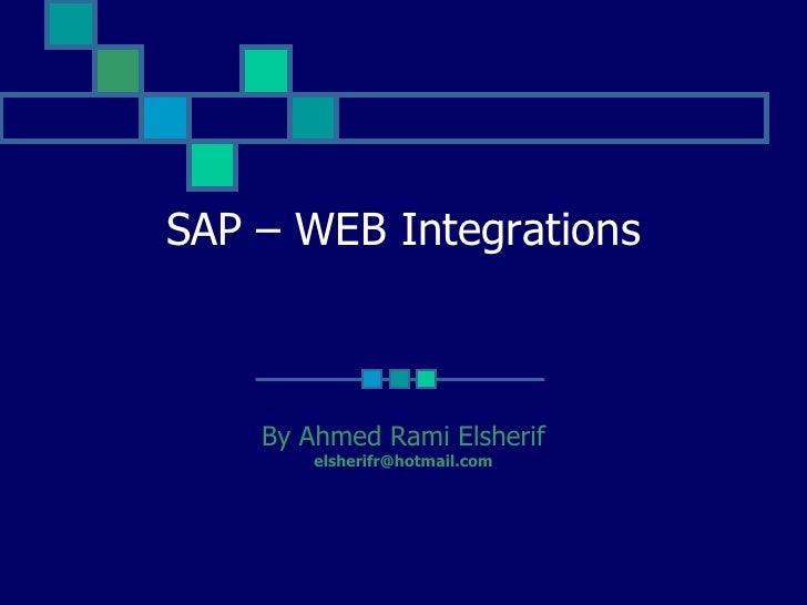 Sap Integrations