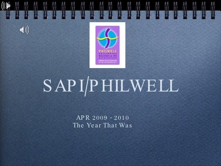Sapiphilwell 2009  2010