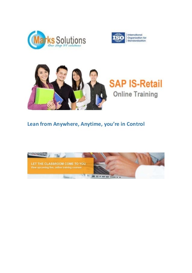 SAP IS-Retail Online Training | Online SAP IS Retail Training | IS Retail Online Courses