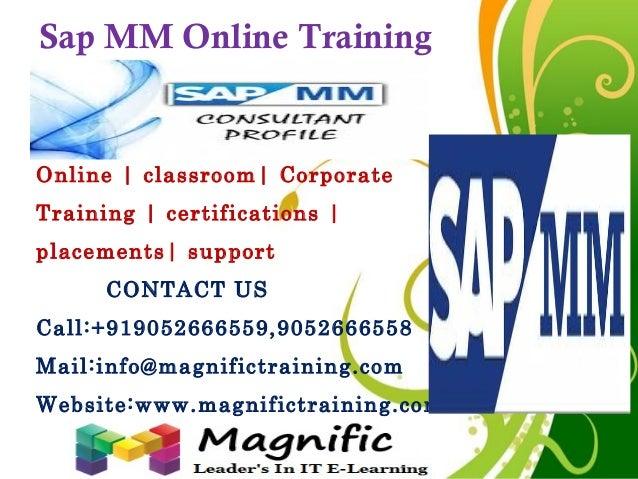 Sap mm online training in canada,pune