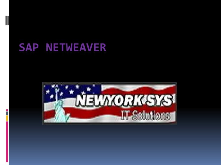 SAP NetWeaver Training in NEWYORK - USA
