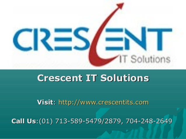 SAP PI Online Training and Placement Support @ Crescent IT Solutions
