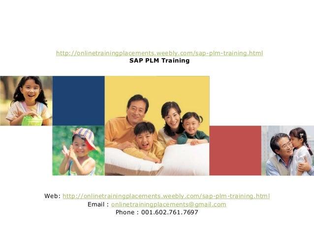 SAP PLM Training   SAP PLM Coure   SAP Plant Maintenance Training