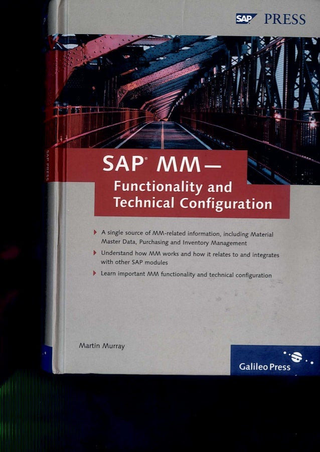 SAP MM Configuration Step by Step guide by Tata Mcgraw hill