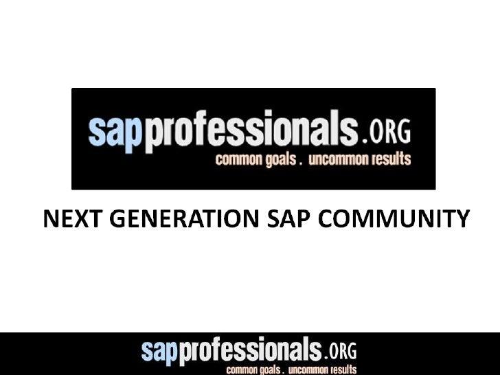 Sap Professionals Network