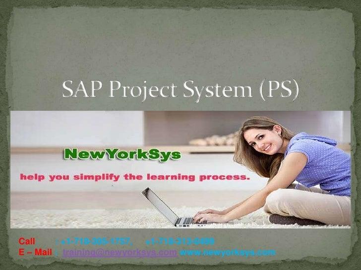 SAP PS Online Training in USA - Newyork