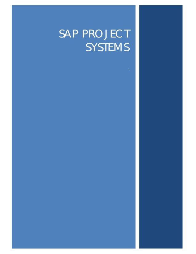 SAP PROJECTSYSTEMS.