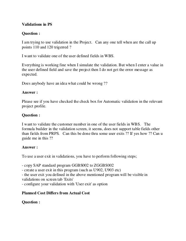 Sap ps module tutorial