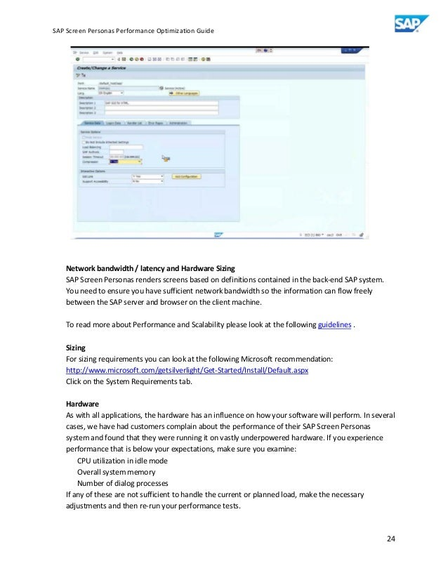 sap data services performance optimization guide