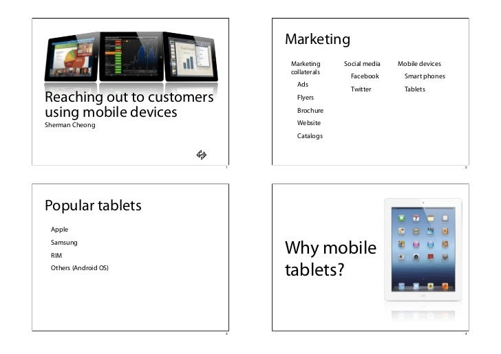 Marketing                                Marketing     Social media   Mobile devices                                collat...